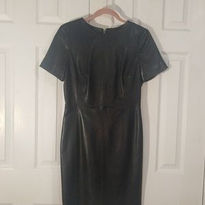Antonio Melani Leather Dress